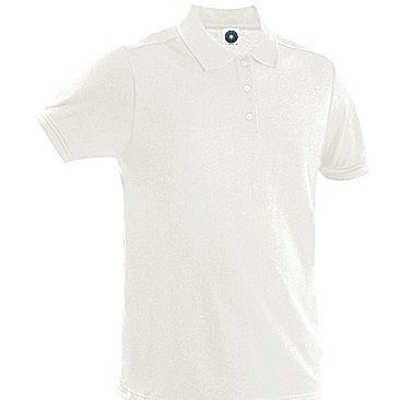 Polo Pique 65/35 White