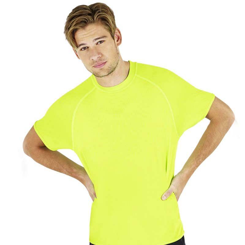 Camiseta 100% Poliester  M/Corta Blanca