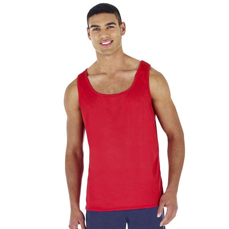 Camiseta sin mangas Poliester