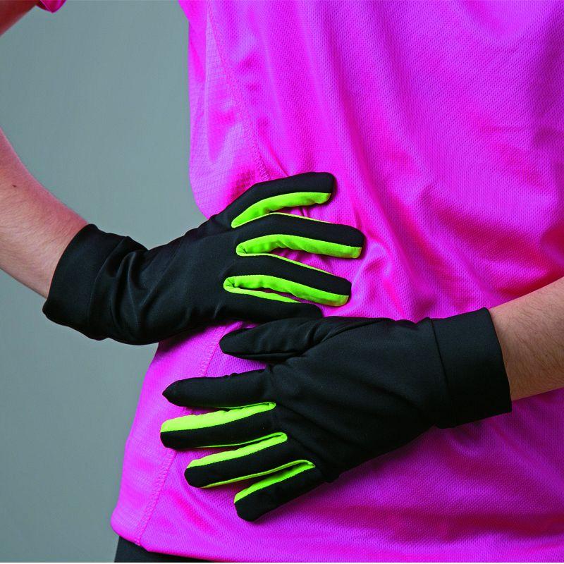 Bicolor Gloves