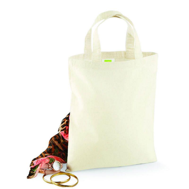 Mini Promo Tote Bag Natural