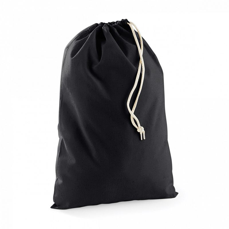 Bolsa Practica de Algodón Black M
