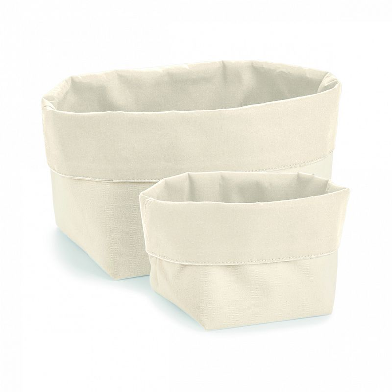 Organizador Reversible Lona Natural M